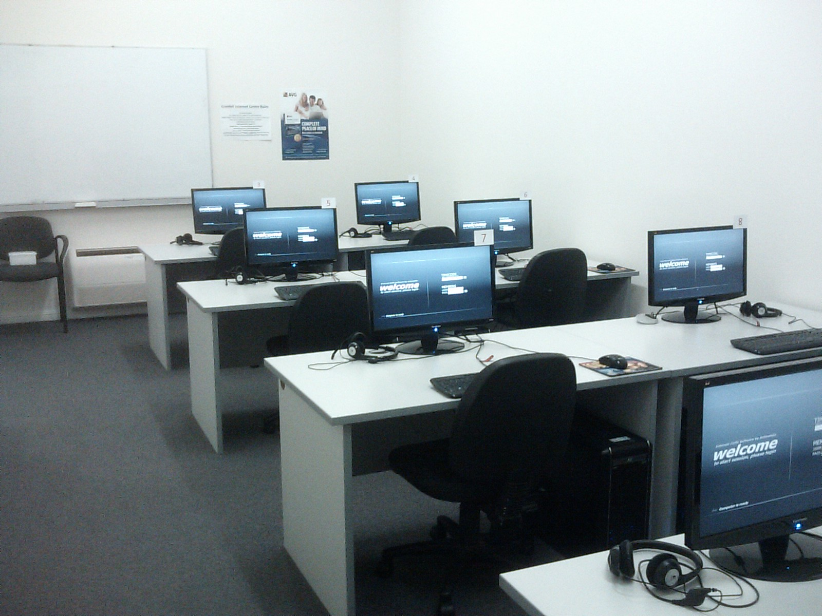 Grenfell Internet Centre - Training Room